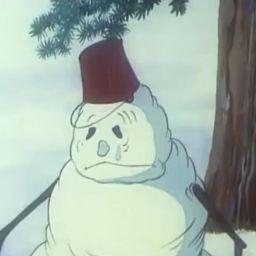 Про Лисёнка. Летний снеговик