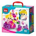 """Десятое королевство TD03906 Конструктор пластиковый Baby Blocks """"Замок принцессы"""" 40 деталей"""