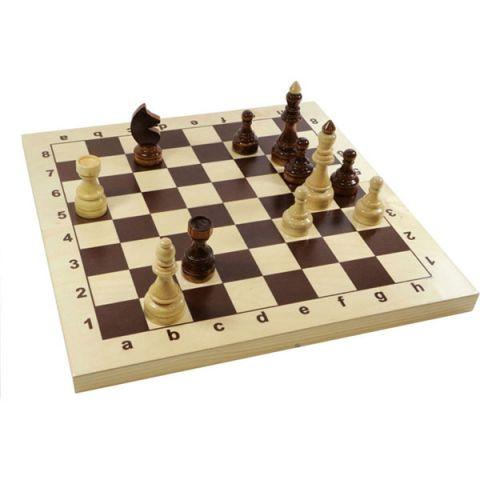 """Десятое королевство TD02846 Игра настольная """"Шахматы Гроссмейстерские"""" деревянные, 43см х 43см"""