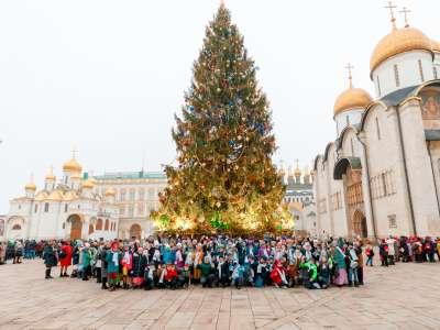 Звёздные гости Кремлёвской Ёлки увидели новогоднюю сказку «Письмо Деду Морозу»