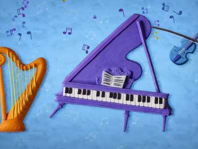 «Пластилинки»: что вы знаете о музыкальных инструментах?
