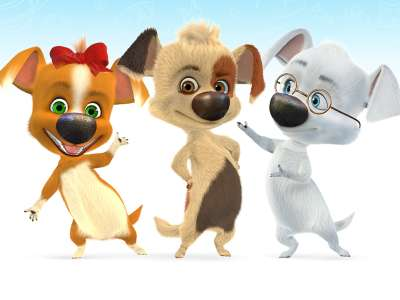 «Белка и Стрелка. Озорная семейка»: угадайте персонажей по картинкам!