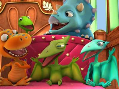 Разбираетесь ли вы в видах динозавров? Тест по мультсериалу «Поезд динозавров»