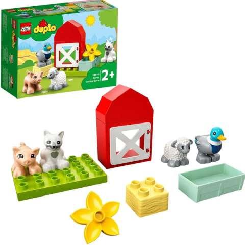 LEGO DUPLO 10949 Конструктор ЛЕГО ДУПЛО Уход за животными на ферме