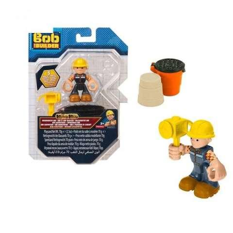Bob the Builder FDM84 Фигурка Боб-строитель с аксессуарами и песком