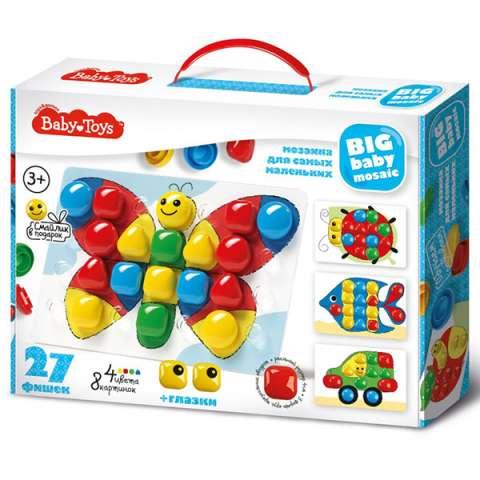 BABY TOYS TD02520 Мозаика для самых маленьких, (27 эл.)