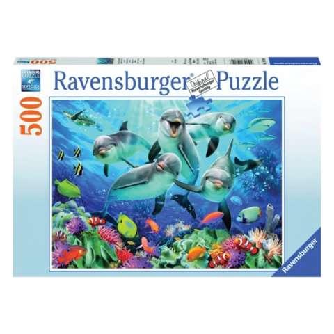 "Ravensburger R14710 Пазл ""Дельфины"", 500 эл."