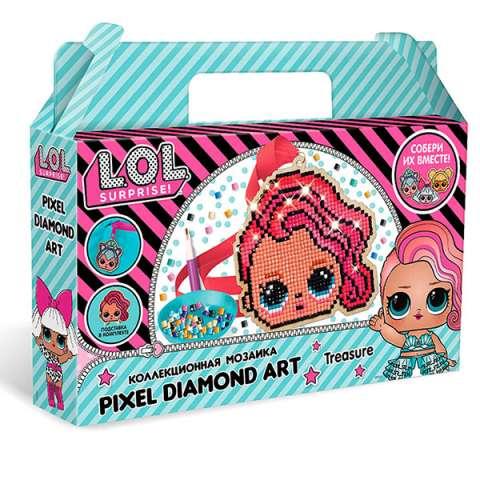 """L.O.L. SURPRISE! W0459 Алмазная мозаика """"Pixel Dimond Art"""""""