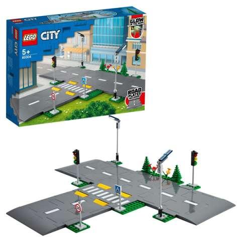 LEGO City 60304 Конструктор ЛЕГО Город City Town Перекрёсток