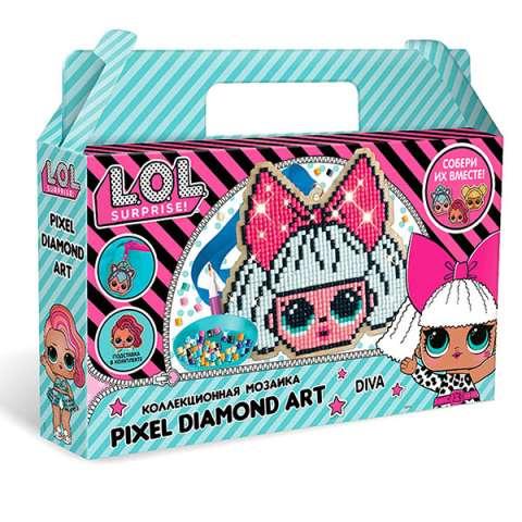 "L.O.L. SURPRISE! W0457 Пиксельная мозаика ""Diva"""