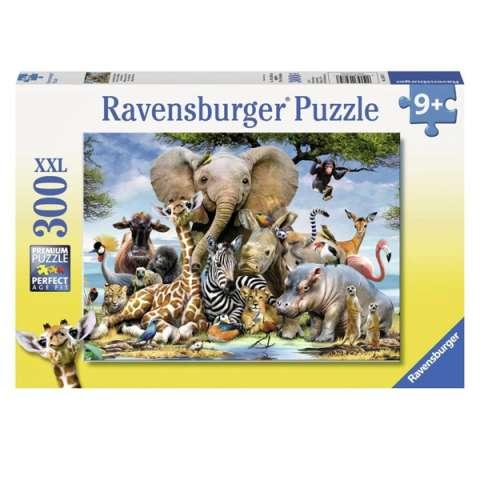 """Ravensburger R13075 Пазл XXL """"Африканские друзья"""", 300 эл."""