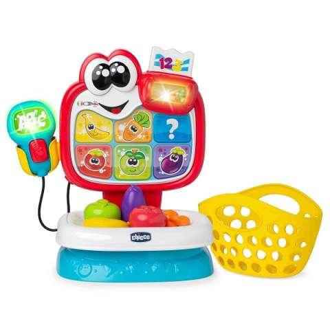 """CHICCO TOYS 9605AR Говорящая игрушка """"Магазин Baby Market"""" (рус/англ)"""