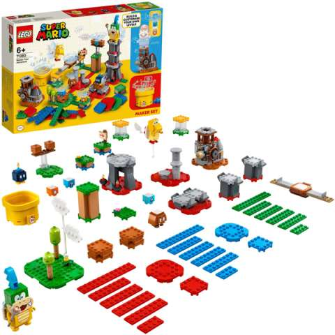LEGO Super Mario 71380 Конструктор ЛЕГО Супер Марио Твои уровни! Твои Приключения!
