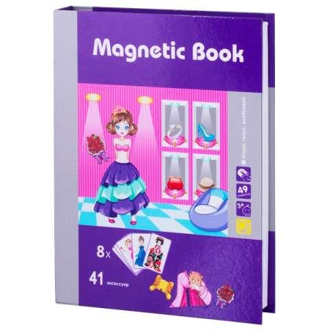 "Magnetic Book TAV037 Развивающая игра ""Маскарад"""