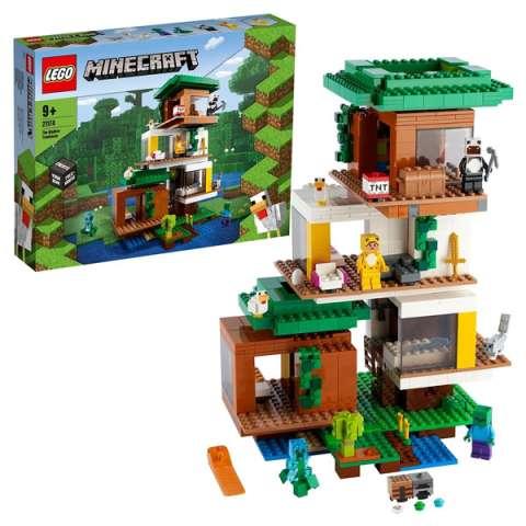 LEGO Minecraft 21174 Конструктор ЛЕГО Майнкрафт Современный домик на дереве