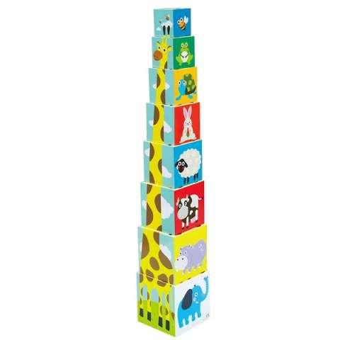 """LITTLE HERO 3028A Развивающая игрушка """"Складные кубики"""""""