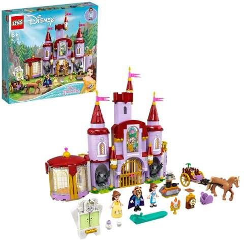 LEGO Disney Princess 43196 Конструктор ЛЕГО Принцессы Дисней Замок Белль и Чудовища
