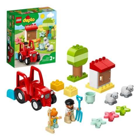 LEGO DUPLO 10950 Конструктор ЛЕГО ДУПЛО Фермерский трактор и животные