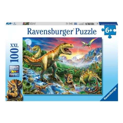 """Ravensburger R10665 Пазл """"У динозавров"""" 100 эл."""