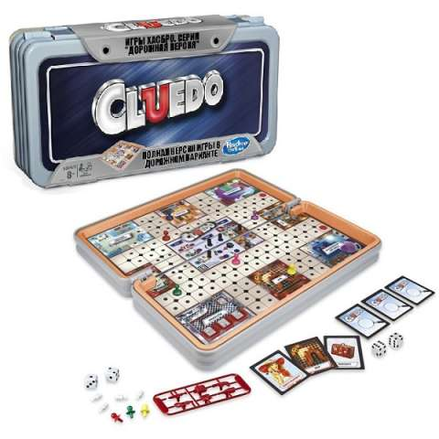 Hasbro Other Games E5341 Настольная игра КЛУЭДО РОУДТРИП (дорожная)