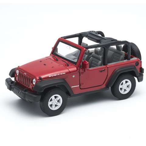 Welly 42371 Велли Модель машины 1:34-39 Jeep Wrangler Rubicon