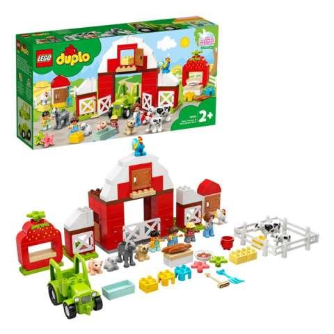LEGO DUPLO 10952 Конструктор ЛЕГО ДУПЛО Фермерский трактор, домик и животные