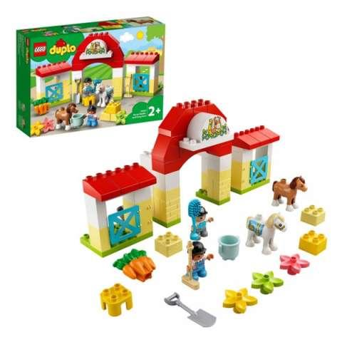 LEGO DUPLO 10951 Конструктор ЛЕГО ДУПЛО Конюшня для лошади и пони