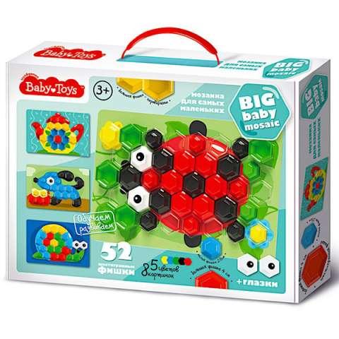 BABY TOYS TD02517 Мозаика для самых маленьких, (52 эл.)