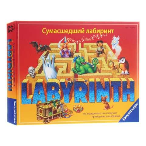 """Ravensburger R26582 Настольная игра """"Сумасшедший лабиринт"""""""