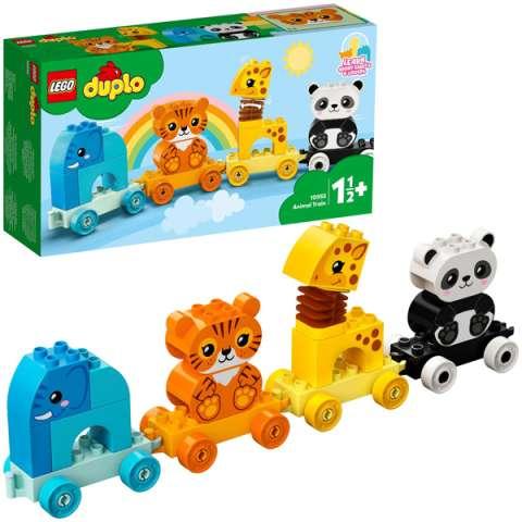 LEGO DUPLO 10955 Конструктор ЛЕГО ДУПЛО Поезд для животных