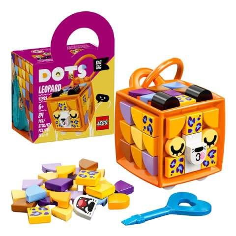 LEGO DOTs 41929 ЛЕГО Дотс Брелок Леопард